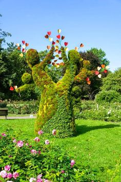 Montreal Botanical Garden in Quebec, Canada, founded in 1931