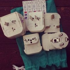 Buy a set of universal power adaptors, because you never know what kinds of plugs you might run into traveling abroad. | 19 Tips To Help Make You A More Savvy Traveler