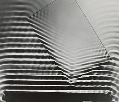 "Berenice Abbott. Photogram: Wave Pattern, MIT, Medium:Gelatin silver print. Dimensions:6 9/16 x 7 9/16"" (16.7 x 19.2 cm)"