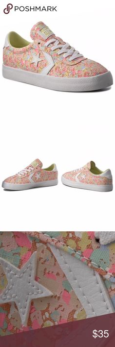NWB CONVERSE WOMEN'S Breakpoint Sunset Glow SZ 7M NWB CONVERSE WOMEN'S Breakpoint Round-Toe Lace-Up Sneakers SUNSET GLOW SZ 7M $65  Vibrant-hued lace-up sneakers showcase star applique Round toe Lace-up style Imported From Converse, the women's Breakpoint sneakers feature: Inspired by court shoes from the 1970s Canvas upper Midsole consists of rubber for added support Vulcanized rubber outsole Converse Shoes Athletic Shoes