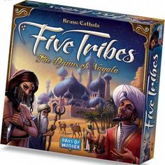 Five Tribes Boardgame - Days of Wonder : (New)