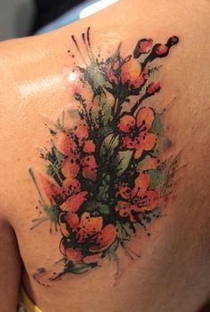 Gene Coffey - Blossom Tattoo Cover Up