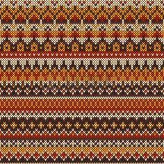 Patr�n sin costuras en el estilo tradicional Fair Isle photo