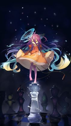 [1080x1920] On Imanity's piece (No Game No Life) : Animewallpaper