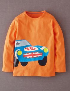 I've spotted this @BodenClothing Big Print T-shirt Blaze/Racing Car