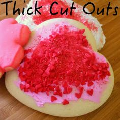 Sunny Days With My Loves - Adventures in Homemaking: Thick Cut-Outs: Sugar Cookies for Little Hands