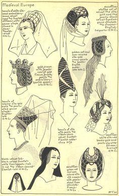 penteados- chapéu- gótico