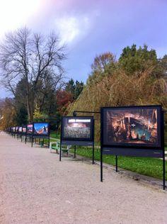 Photo exhibition at Tivoli park, Ljubljana. Only a few minutes from city centre.