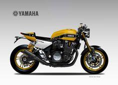 "YAMAHA XJR 1300 YARD BUILT ""KR"" on Behance"