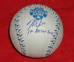SALE $149! MIKE TROUT AUTOGRAPHED MLB ALL-STAR GAME BASEBALL WITH AUTHENTICATION HOLOGRAM and COA!
