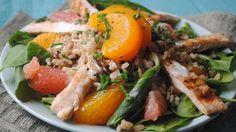 Citrus Chicken Salad - QueRicaVida.com