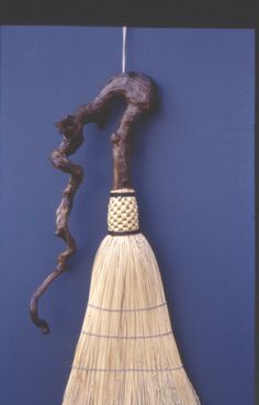 Roots # 14. Handmade with driftwood handle. Friendswood Brooms.