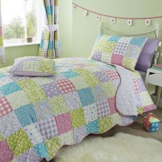 Kids Ditsy Patchwork Bed Linen Collection | Dunelm