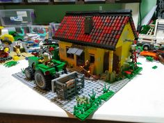 wip of country house... | by monsinjor - Lego MOCs