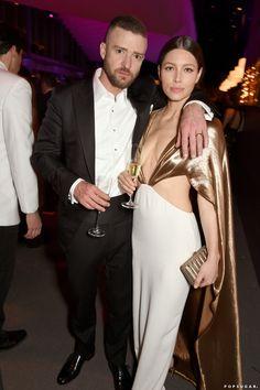 Gold Gown, Gold Dress, Jesica Biel, Jessica Biel And Justin, Justin Timberlake, Celebs, Celebrities, Celebrity Couples, Jennifer Aniston