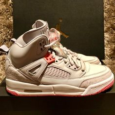 official photos 609ab 4f28b Nike Shoes   Nike Air Jordan Spizike Gs Worn Once 535712 026   Color  Gray Pink    Size  7.5