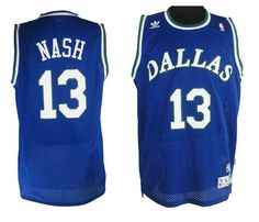 608a8054313 Mavericks  13 Steve Nash Blue Stitched NBA Throwback Jersey Cheap Nba  Jerseys