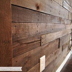 Pallet Wall via Cape27Blog