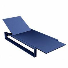 Wood Furniture, Outdoor Furniture, Outdoor Decor, Sun Lounger, Frame, Home Decor, Modular Sofa, High Stool, Blue