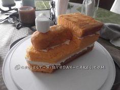 1000+ ideas about Train Birthday Cakes on Pinterest | Thomas the ...