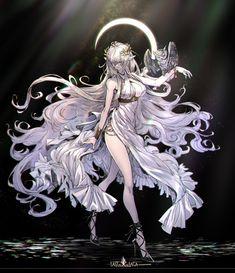 Julia (Pixiv Fantasia) - Pixiv Fantasia: Last Saga - Image - Zerochan Anime Image Board Kawaii Anime Girl, Anime Art Girl, Manga Art, Female Character Design, Character Art, Fantasy Characters, Anime Characters, Pixiv Fantasia, Anime Angel