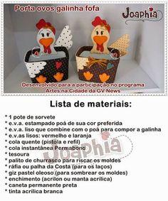 Porta ovos com molde