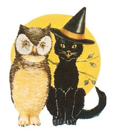 Clearly Vintage: Last Minute Halloween Freebie printables