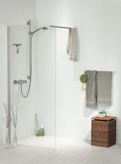 Glasdøre og Brusekabiner i Herlev & på Amager Country Style, Bathroom Hooks, Curtains, Shower, Bathrooms, Design, Rain Shower Heads, Rustic Style, Blinds