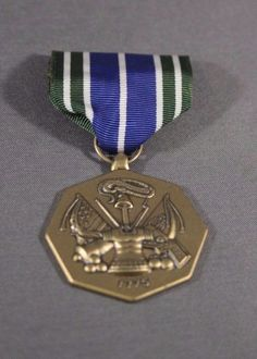US Army Achievement Medal Military Service Award Full Size Decoration