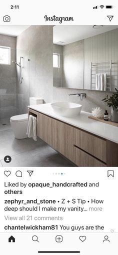36 Tips for Choosing the Right Bathroom Tile Designs, Trends & Ideas – Tile Bathroom Color Schemes, Bathroom Tile Designs, Bathroom Trends, Modern Bathroom Design, Bathroom Colors, Bathroom Interior Design, Bathroom Renovations, Bathroom Ideas, Bathroom Mirrors