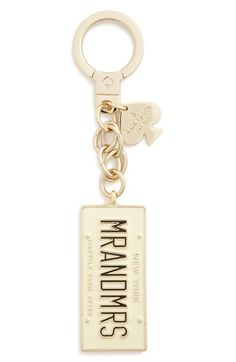 kate spade new york 'mr. & mrs.' bag charm available at #Nordstrom
