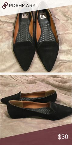DV Dolce Vita pointy toe suede flats. Gently worn in great condition. Reposhing to pointy for my fit. 😔 DV by Dolce Vita Shoes Flats & Loafers