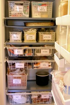 Homestead Revival: Upright Freezer Organization