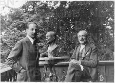 Rilke i Paul Valéry w Anthy sur Thonon nad Jeziorem Genewskim, 13 września 1926 roku