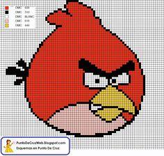 Angry Birds - Cross-stitch