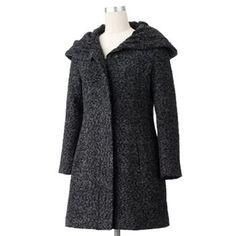 Excelled Hooded Boucle Jacket - Women's Plus