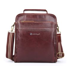 Brown Leather Shoulder Bags for Men Shoulder Purses - Leather Bag Leather Bags, Leather Purses, Brown Leather, Shoulder Purse, Leather Shoulder Bag, Fashion Bags, Women's Fashion, Vintage Bag, Best Bags