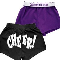 Youth Soffe Shorts Zoey Cute Cheer Practice