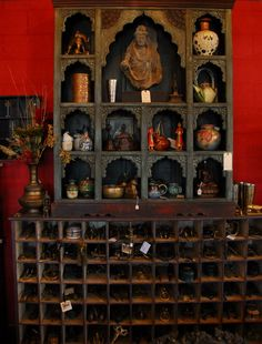 A fabulous wooden hand carved altar.