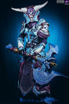 Death Knight Cosplay. Check out my blog ApertureGaming.net for more great PC gaming content!
