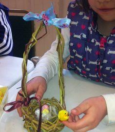 Children's Will Basket Making Classes.