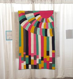 QuiltCon 2016 - Puddling by Amy Friend