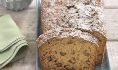 Ein saftiger Vollwert-Kuchen mit Walnüssen für die Kaffeetafel