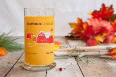 Autumn Hillside Ring Candle