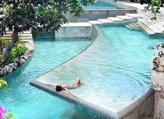 The big swimming pool.Zen