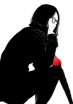 """Lady in Black"" by sawasawa"
