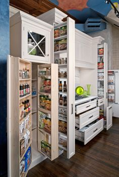 Dream kitchen storage