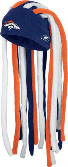 Denver Broncos Dreadlock Knit Hat