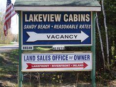 Lakeview Cabins Resort on Lake Superior, Paradise MI, Upper Peninsula of Michigan