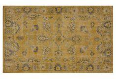8'x10' Stephen Flat-Weave Rug, Gold on OneKingsLane.com